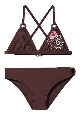 Triangel-Bikini, KangaROOS in braun