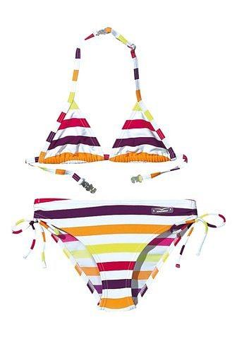 Triangel-Bikini, Venice Beach Girls in pink-lila