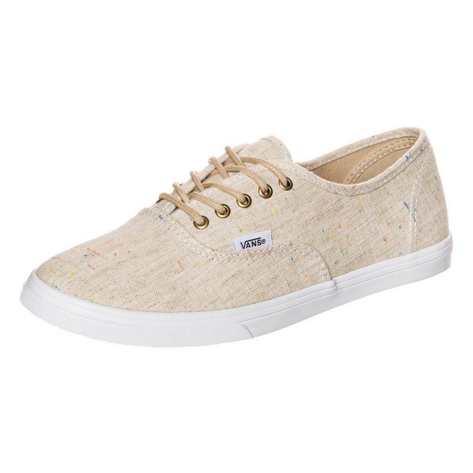 VANS Authentic Lo Pro Sneaker Damen in beige / weiß