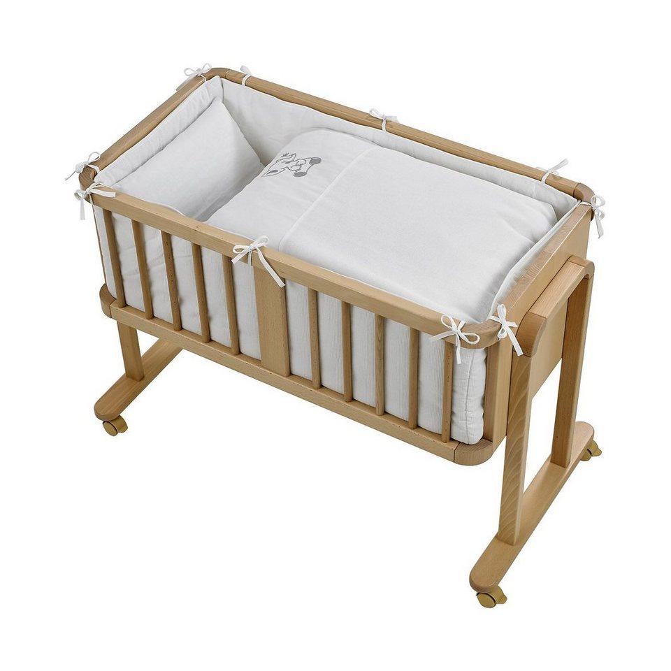 geuther bettset elefant f r beistellbett stubenwagen beige 2 tlg online kaufen otto. Black Bedroom Furniture Sets. Home Design Ideas
