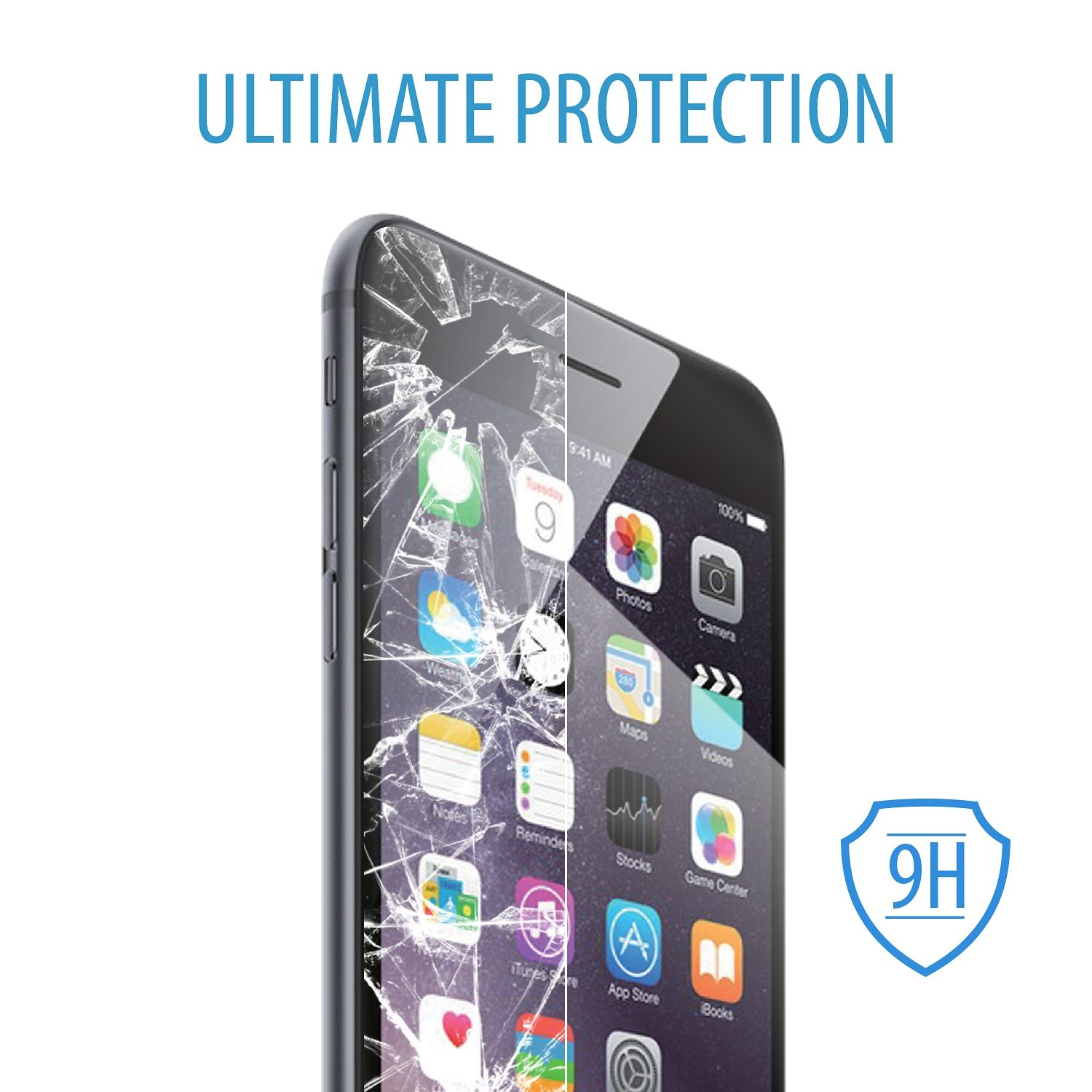 V7 Schutz & Sicherheit »iPhone 6 PLUS SCREENPROTECT«