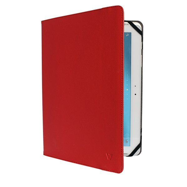 V7 Folio Case »Universal Folio Case für Tablet 25,5 cm rot«