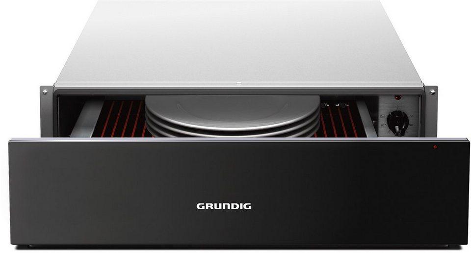 Grundig Wärmeschublade GWS 2152 B in schwarz