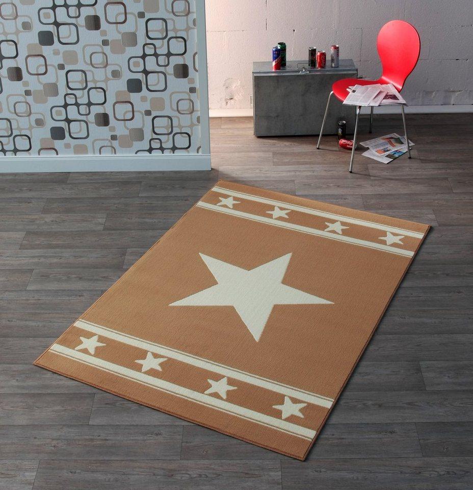 Design Teppich, Hanse Home, »Stern«, Trend, modern, gewebt