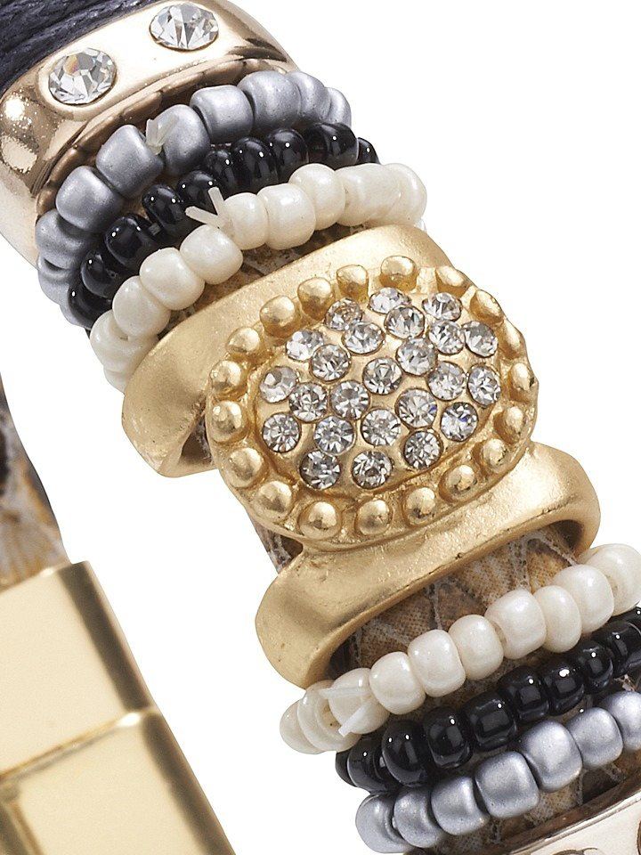 Armband in beige
