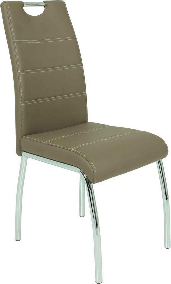 Stuhl (2 oder 4 Stück) in latte
