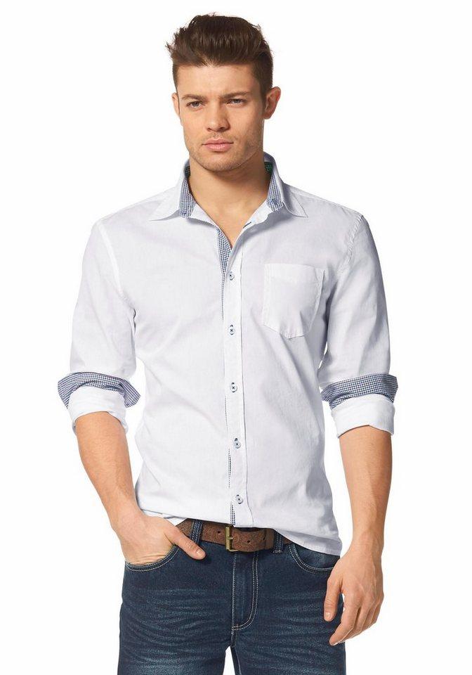 John Devin Hemd in weiß