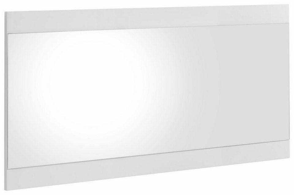 spiegel hmw spazio breite 121 5 cm mit rahmen online kaufen otto. Black Bedroom Furniture Sets. Home Design Ideas