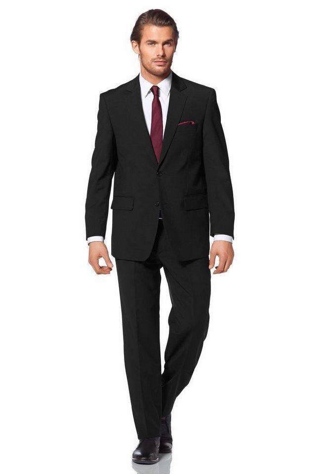 Eterna Anzug in schwarz