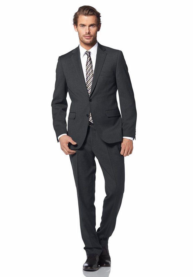 Class International Anzug in anthrazit