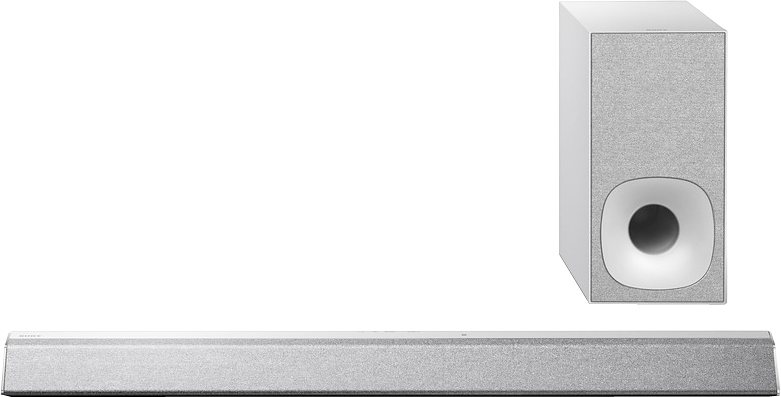 Sony HT-CT381 Soundbar Bluetooth NFC in silberfarben