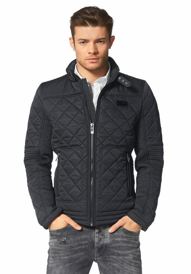 Bruno Banani Steppjacke in schwarz