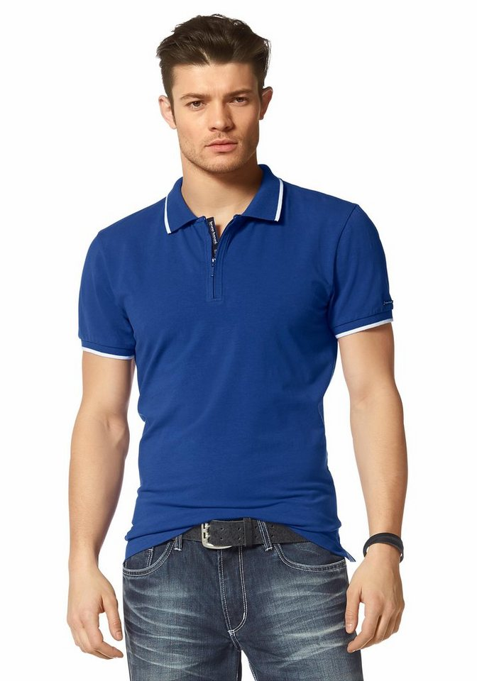 Bruno Banani Poloshirt in royalblau