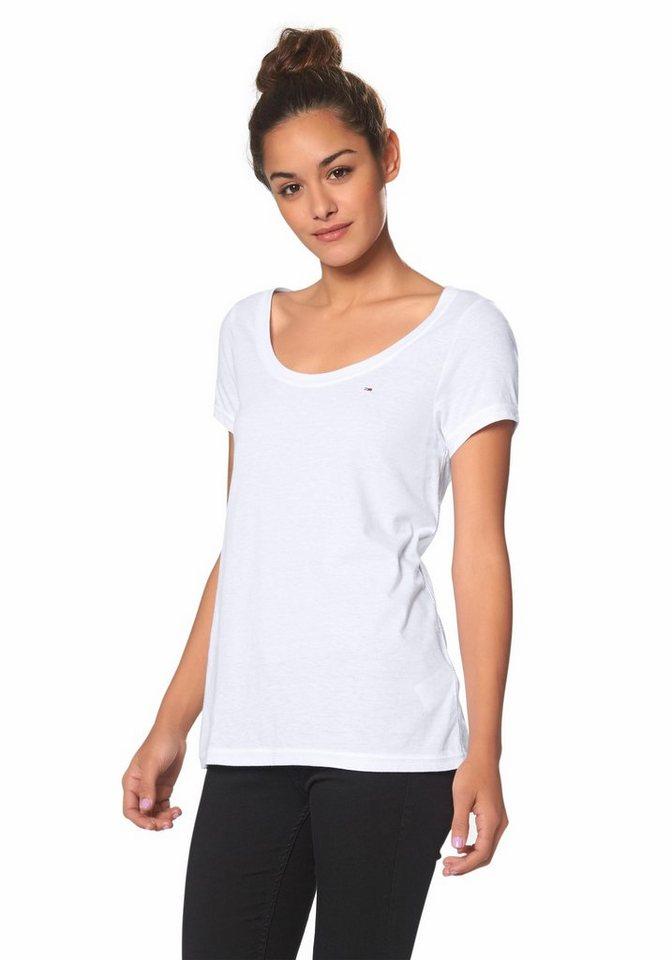Hilfiger Denim T-Shirt »Leena« in weiß