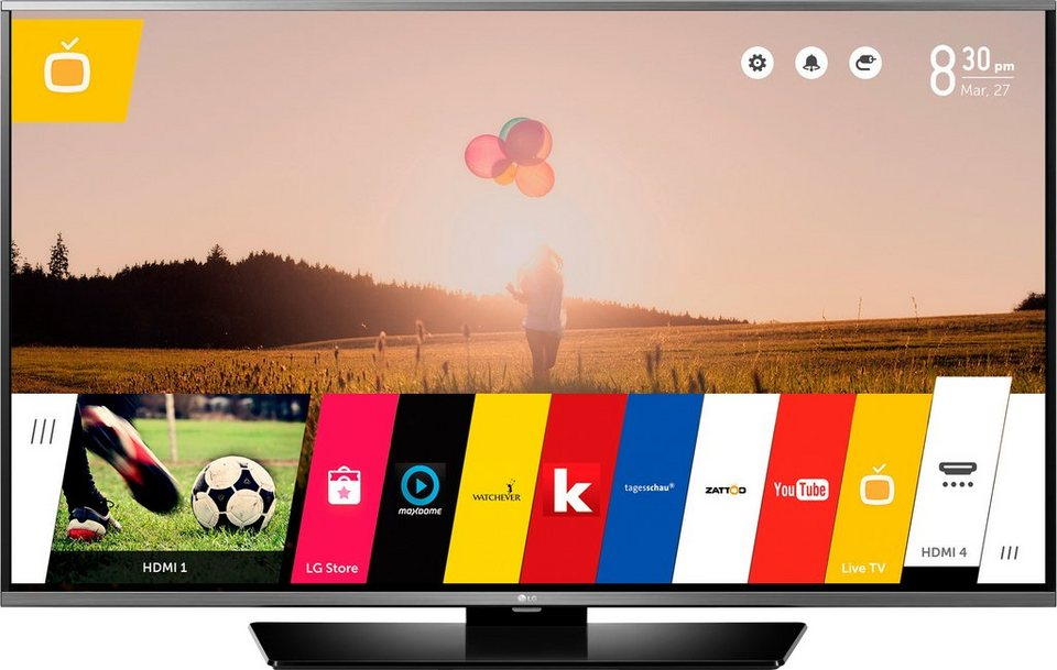 lg 40lf6309 led fernseher 100 cm 40 zoll 1080p full hd smart tv online kaufen otto. Black Bedroom Furniture Sets. Home Design Ideas