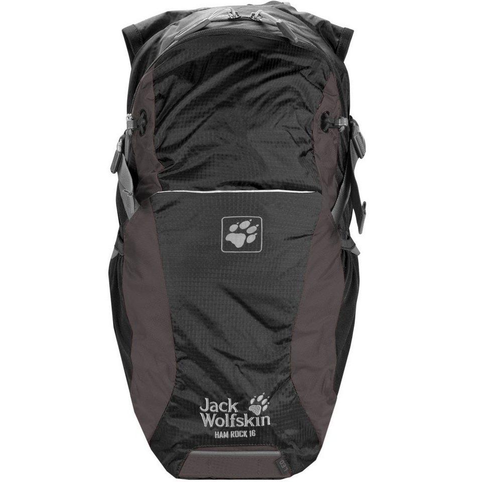 Jack Wolfskin Daypacks & Bags Ham Rock 16 Rucksack 47 cm in dark steel
