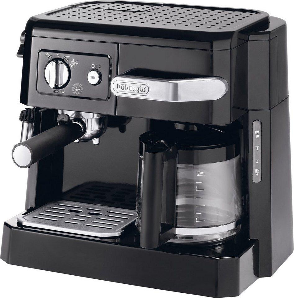 de 39 longhi siebtr germaschine bco 410 1 1x4 kombi espresso kaffee maschine online kaufen otto. Black Bedroom Furniture Sets. Home Design Ideas