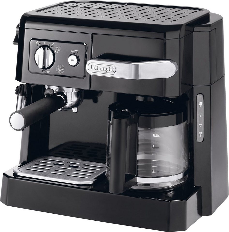 delonghi siebtr germaschine bco 410 1 1x4 kombi espresso kaffee maschine online kaufen otto. Black Bedroom Furniture Sets. Home Design Ideas