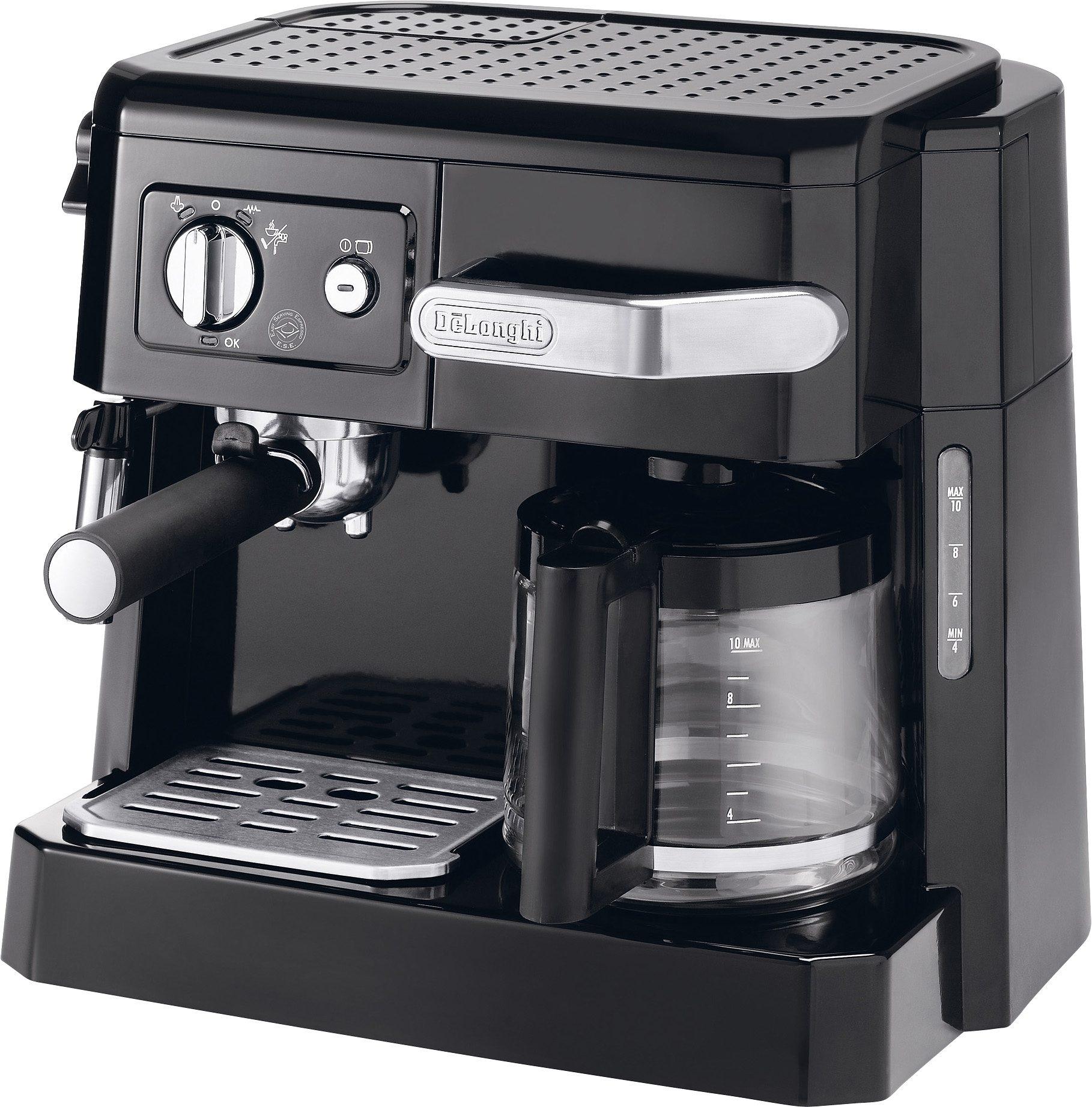 De'Longhi Siebträgermaschine BCO 410.1, 1x4, Kombi-Espresso-Kaffee-Maschine