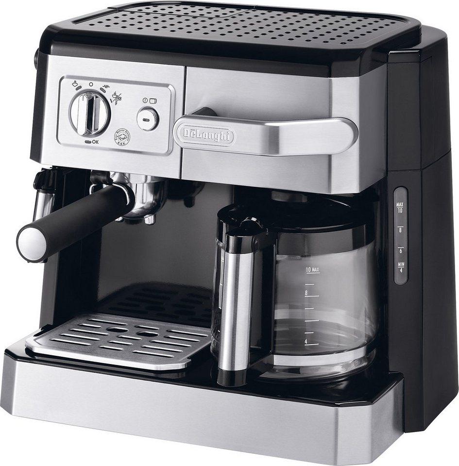 de 39 longhi kombi espresso kaffee maschine siebtr ger bco 420 1 mit milchaufsch umd se online. Black Bedroom Furniture Sets. Home Design Ideas