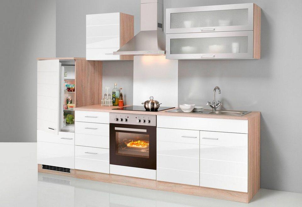 Küchen Emden held möbel küchenzeile mit e geräten emden breite 270 cm