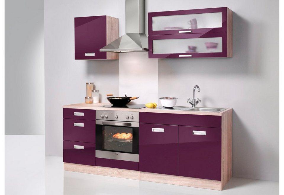 respekta k chenzeile ohne e ger te lbkb280ww 280 cm wei. Black Bedroom Furniture Sets. Home Design Ideas