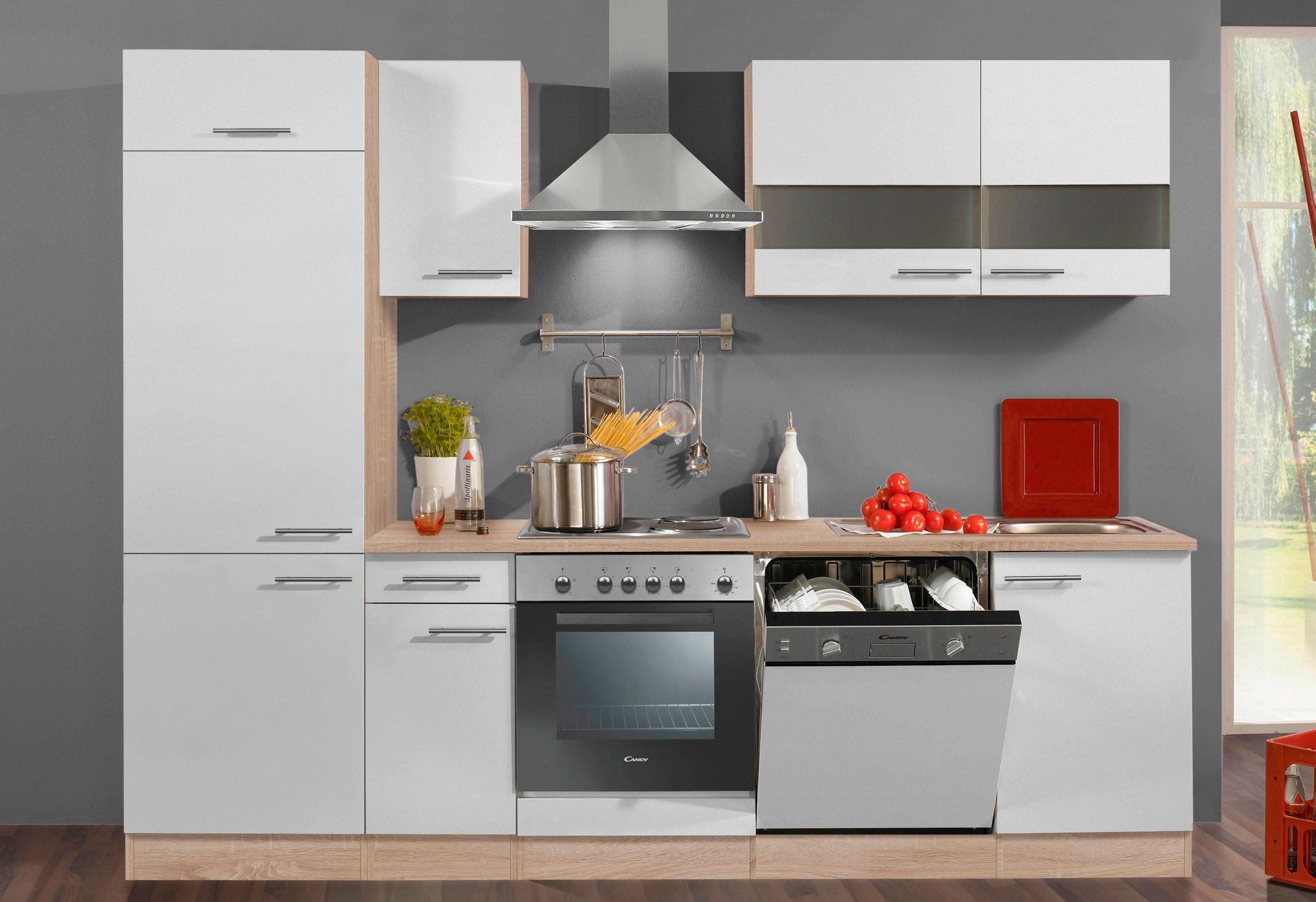 Optifit Küchenzeile ohne E-Geräte »Dakar«, Breite 270 cm - geeignet für Geschirrspüler