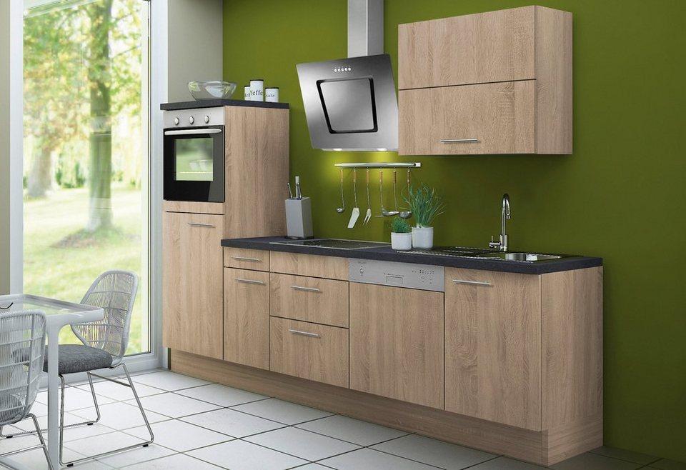 optifit küchenzeile »lagos«, ohne e-geräte, breite 270 cm - set 1 ...
