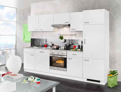 Wiho küchen küchenzeile valencia mit elektrogeräten set 2 280 cm