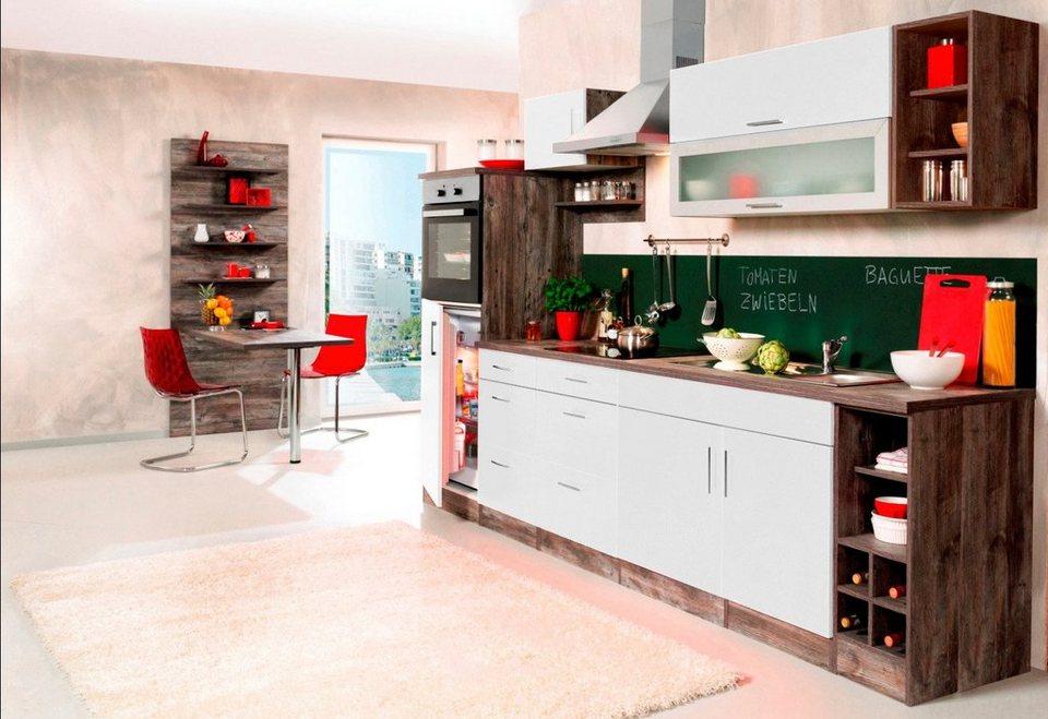Held Mobel Kuchenzeile Sevilla Mit Elektrogeraten Breite 300 Cm