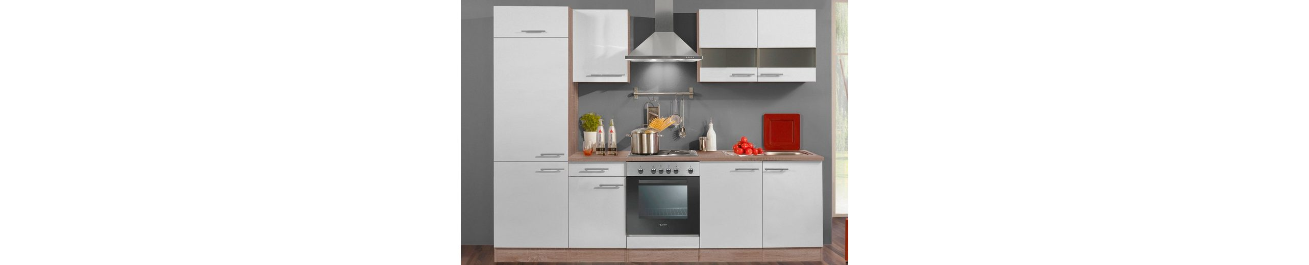 Küchenzeile ohne E-Geräte »Rabat«, Breite 270 cm - Set 1