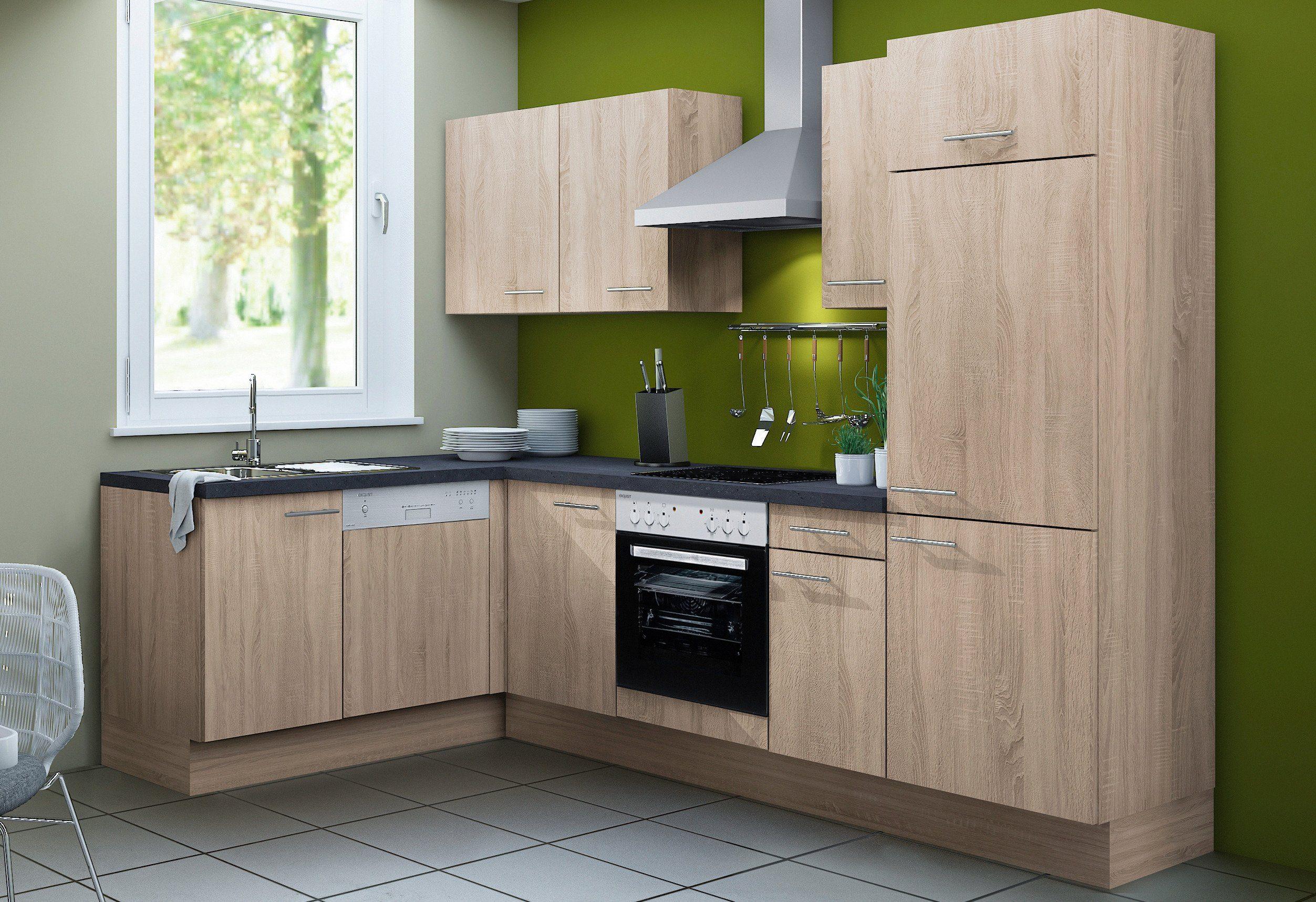 Optifit Küchenzeile ohne E-Geräte »Lasse«, Breite 270 cm - Set 1