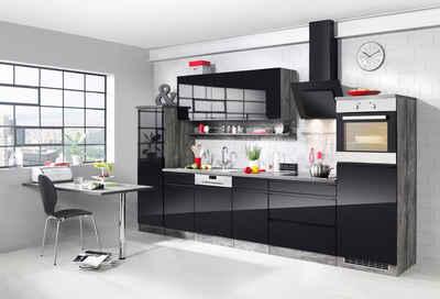Küchenzeile mit hochbackofen  Küchenzeile mit Geräten kaufen » Küchenblöcke | OTTO