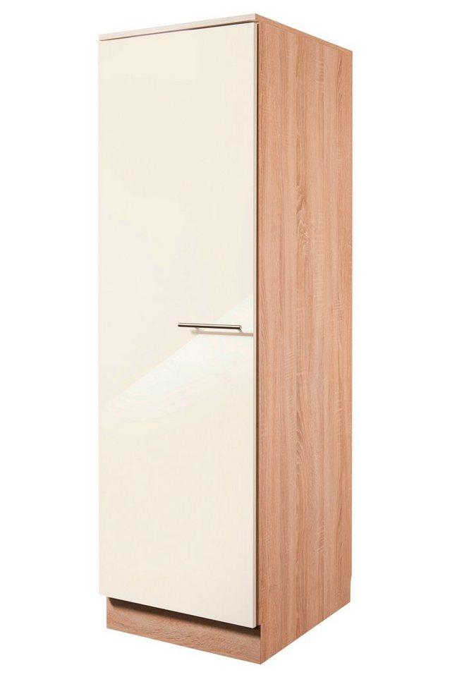 Vorratsschrank »Montana Glanz«, Breite 50 cm in cremefarben/eichefarben sonoma