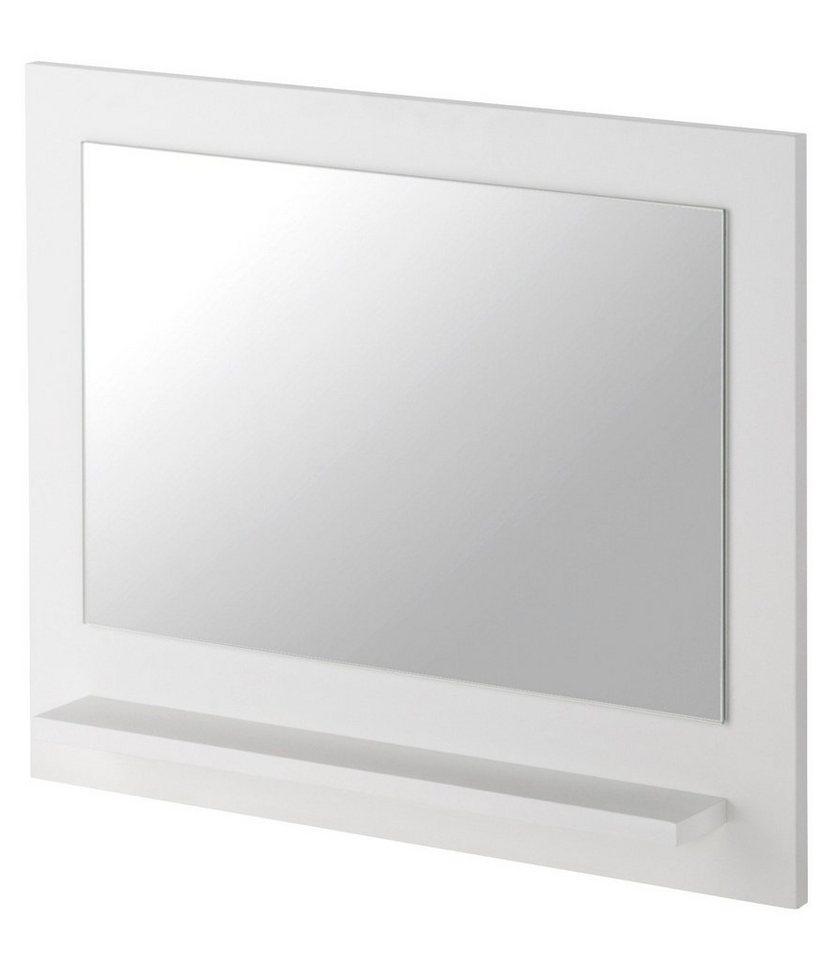 Spiegel / Badspiegel »Mare«, Breite 60 cm, mit Ablage in weiß