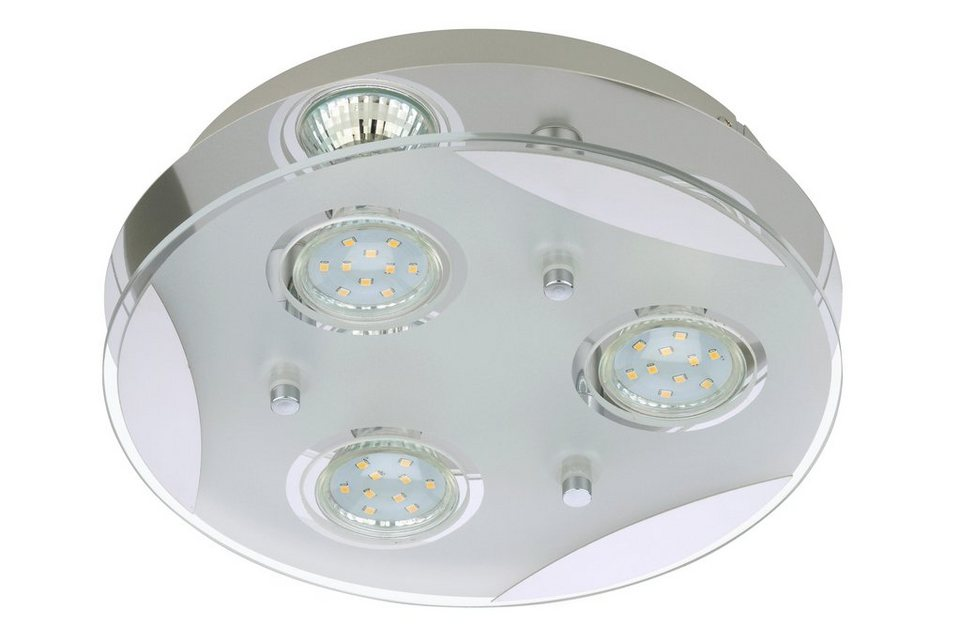LED Deckenleuchte »Flash«, 3W in silberfarben
