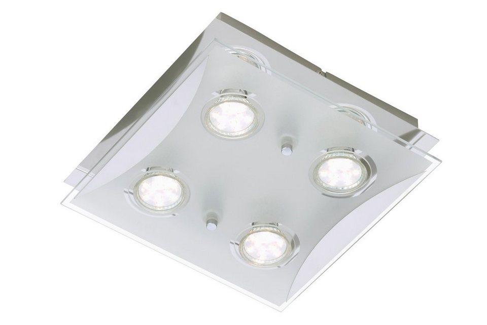 LED Deckenleuchte »Flash«, 3W in silberfarben