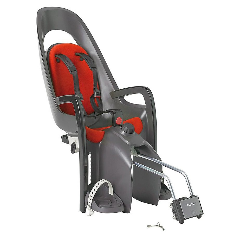 Hamax Kindersitz-System »Caress Kindersitz grau/rot«