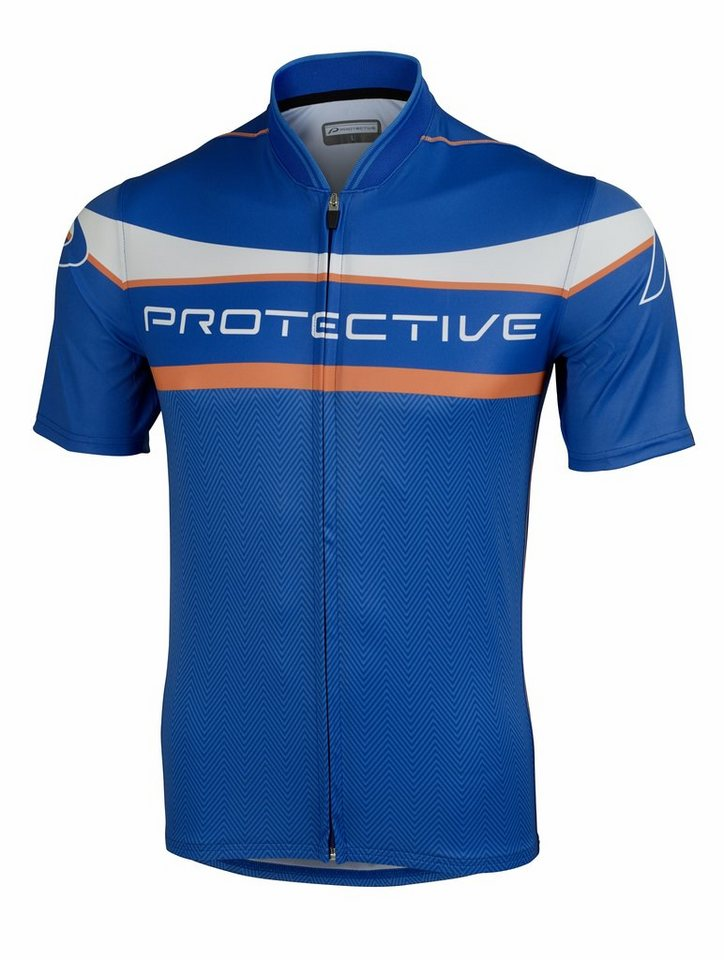 Protective Radtrikot »P 2 Shirt Men« in blau