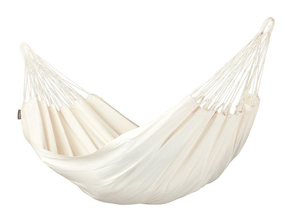 La Siesta Hängematte »Modesta Single-Hängematte« in weiß