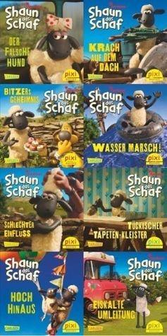 Broschiertes Buch »Pixi-Bundle 8er Serie 228: Shaun das Schaf ist...«