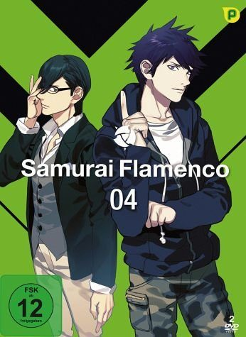DVD »Samurai Flamenco - Vol. 4 (2 Discs)«