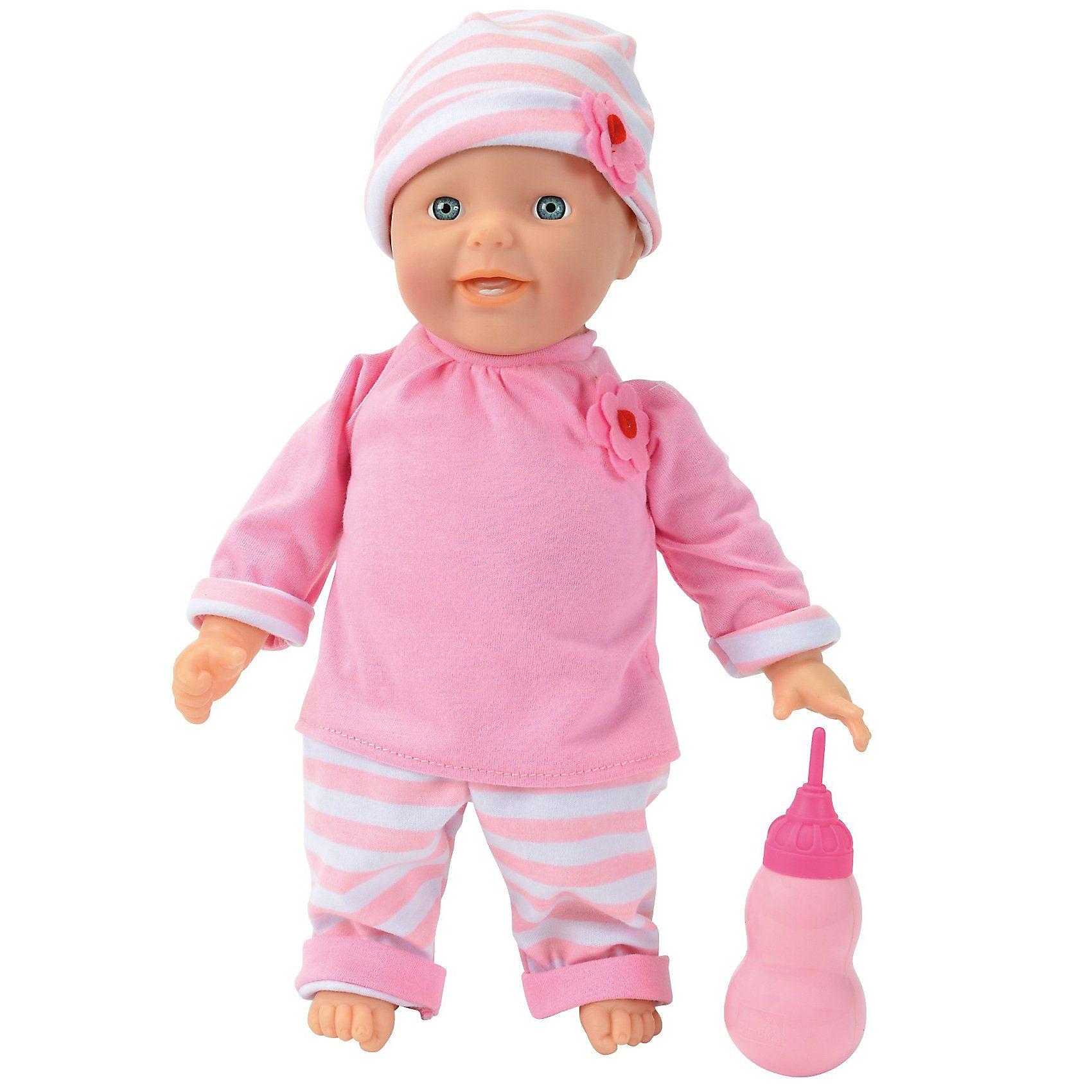 Simba Babypuppe Laura Happy, 38 cm