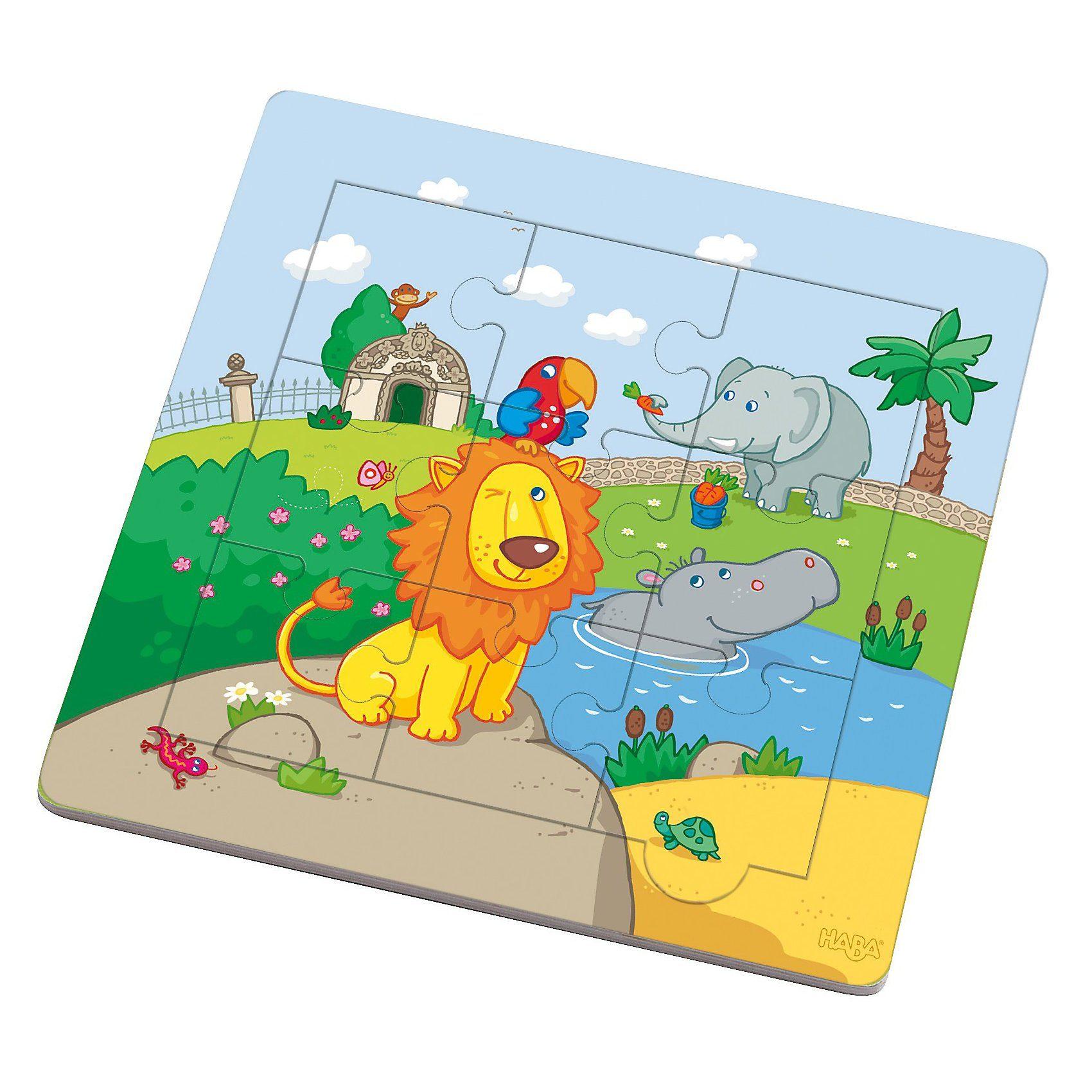 Haba Holzrahmen-Puzzle Löwenfreunde