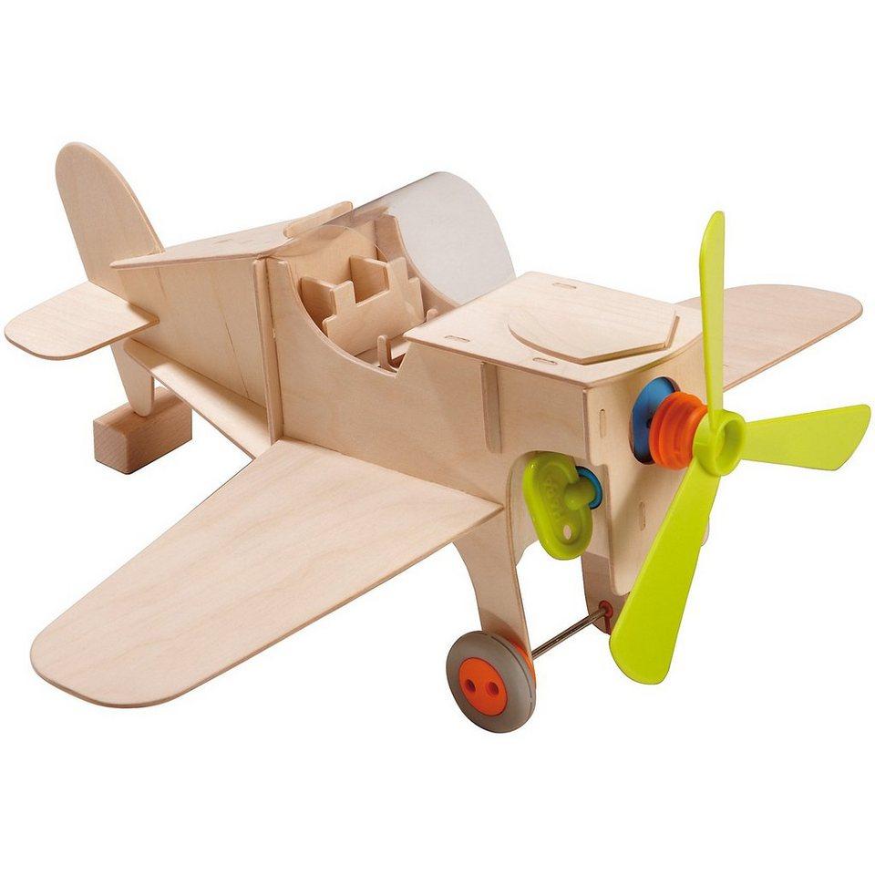 Haba TERRA KIDS Bausatz Flugzeug