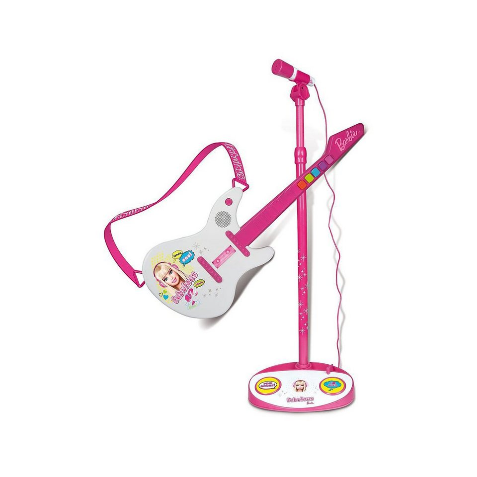 IMC Toys Barbie Elektronische Gitarre & Standmikrofon