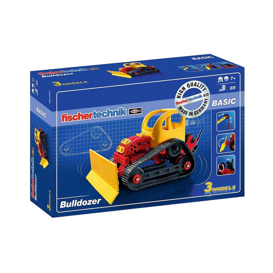 "fischertechnik BASIC ""Bulldozer"" - Baukasten"
