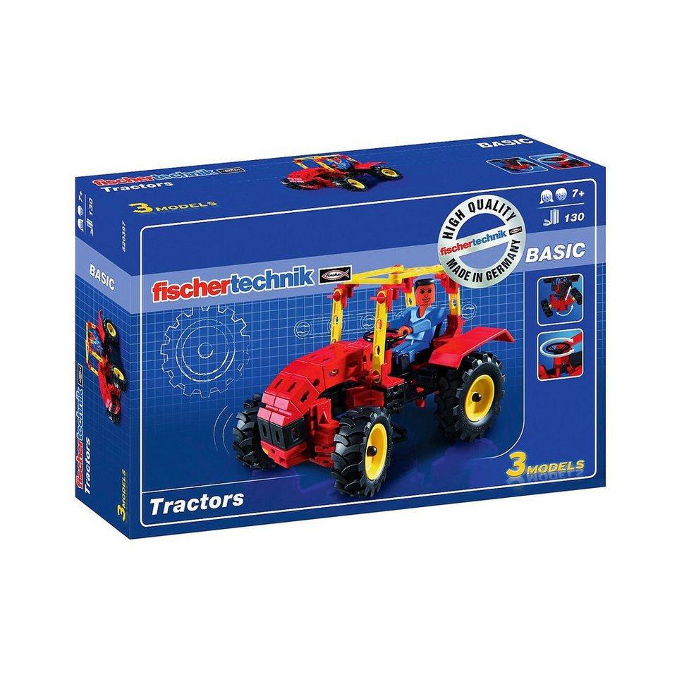 """fischertechnik BASIC """"Tractors"""""""
