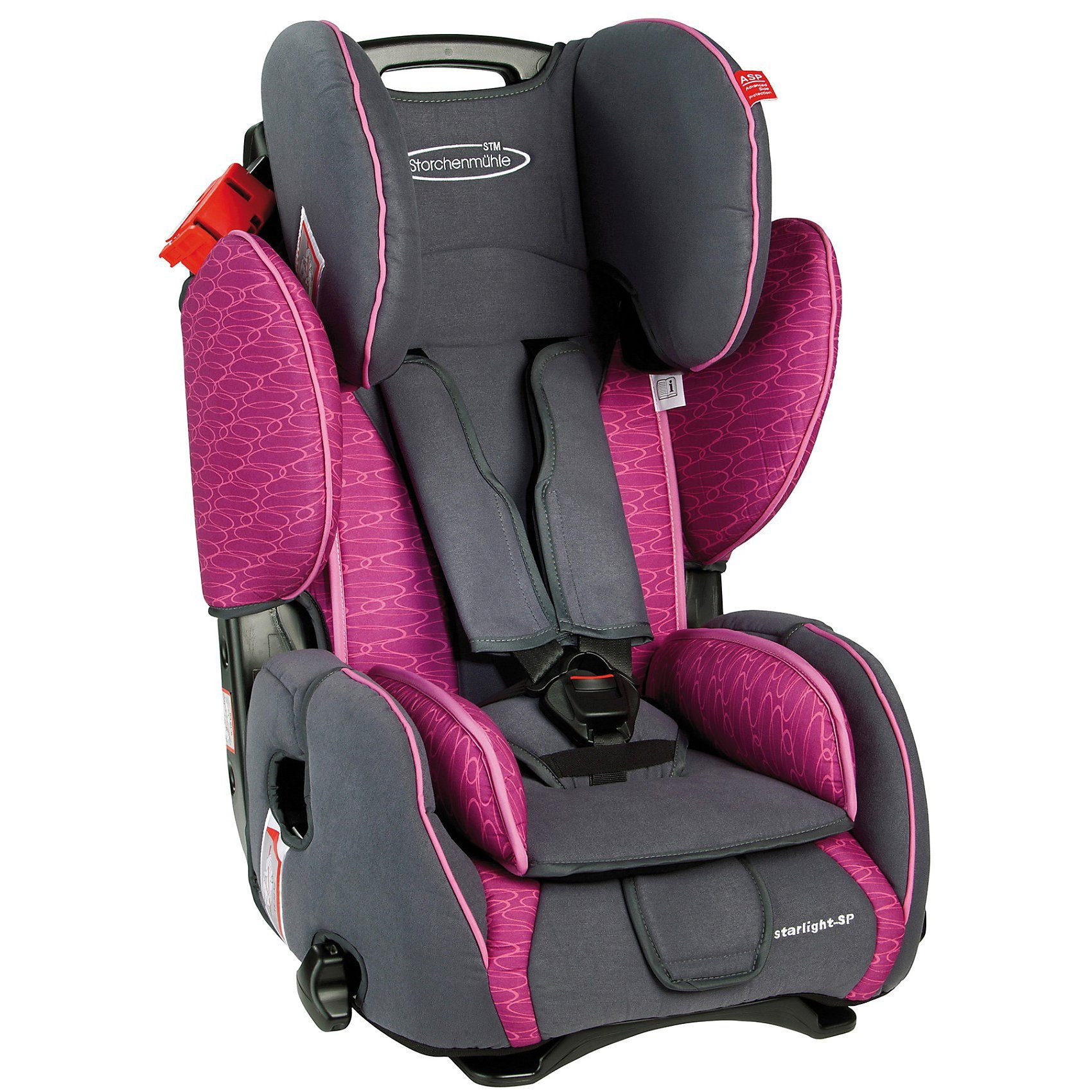 Storchenmühle Auto-Kindersitz Starlight SP, Rosy