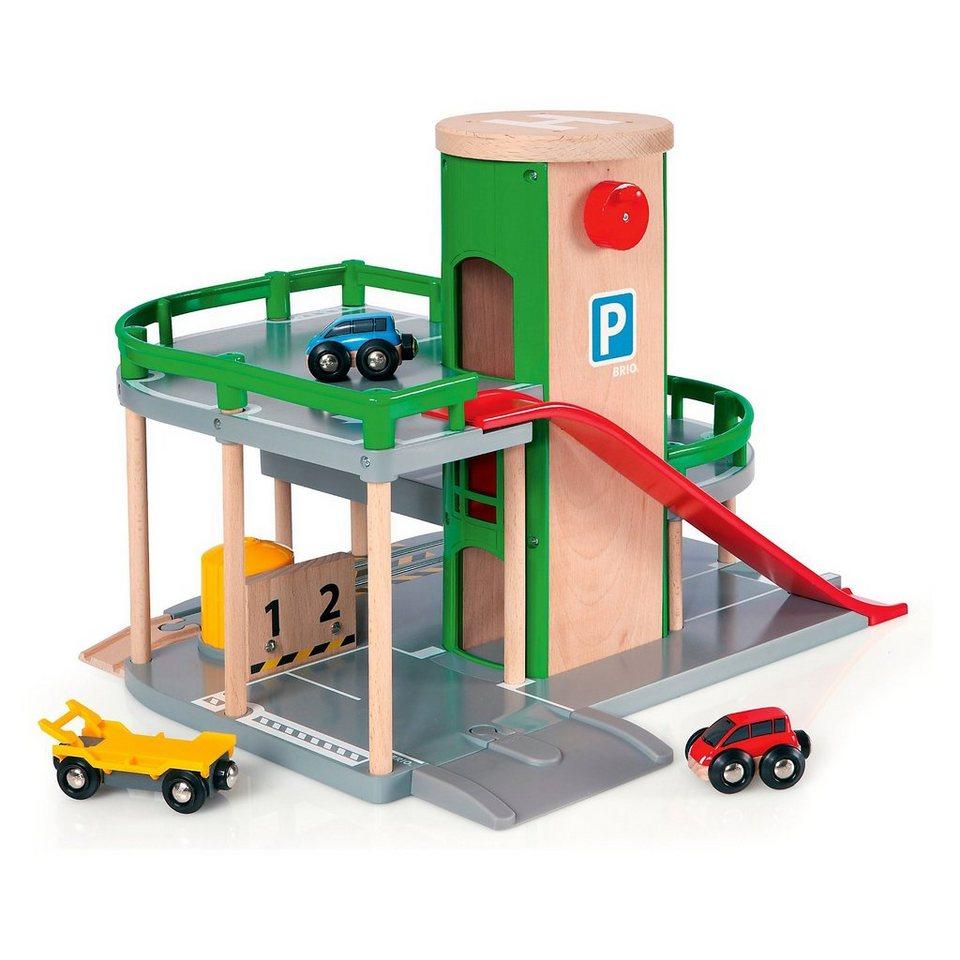 BRIO 33204 Parkhaus, Straßen & Schienen